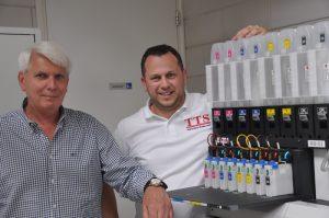 Jakob Lameijer (l) and Michel Prins (TTS)
