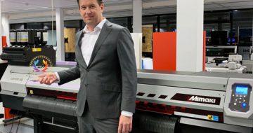 La Mimaki UJV100-160 nommée meilleure imprimante bobine-bobine par l'EDP image